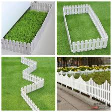 Usd 4 19 Plastic Fence Fence Small Fence Courtyard White Outdoor Lawn Garden Decorated Kindergarten Indoor Christmas Fence Wholesale From China Online Shopping Buy Asian Products Online From The Best Shoping