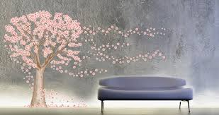 Cherry Blossom Tree Wall Decals Dezign With A Z