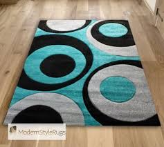 black and teal blue swirls with grey