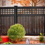 Black Vinyl Pvc Privacy Fencing Panels From Illusions Vinyl Fence Traditional Landscape New York By Illusions Vinyl Fence