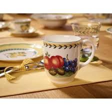 french garden fleurence mug à café 420