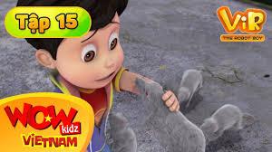 Vir : The Robot Boy - Cậu Bé Robot - Tập 15 - Đội Quân Chuột Rô ...