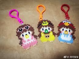 Perler/Hama Beads」おしゃれまとめの人気アイデア|Pinterest|Lynette West | アイロンビーズ, ビーズ