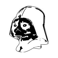 Grumpy Cat Vader T Vinyl Decal Sticker