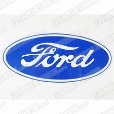 Ford Oval Decal W Clear Background Lmr Com