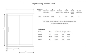 exterior sliding glass door dimensions