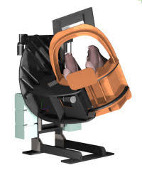 3 dof flight simulator movement pit