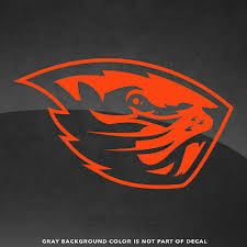 Oregon State Beavers Vinyl Decal Sticker 4 And Up More Colors Ebay