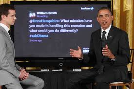 Obama tweets at Twitter town hall