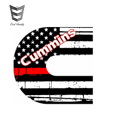 2020 Wholesale 13cm X 8 5cm Firefighter C Tattered Flag Red Line Exterior Window Decal Funny Car Stickers Motor Car Decal From Bulangying 20 11 Dhgate Com