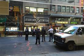 robbers in diamond district heist