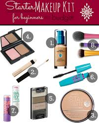 starter makeup for beginners on a