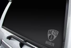 Brooklyn Nets Window Decal Brooklyn Nets Window Decal Wgs67001 6 99