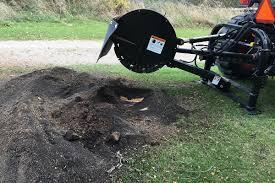3 point pto stump grinder tree