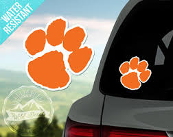 Tiger Paw Decal Etsy