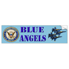 Blue Angels Bumper Stickers Decals Car Magnets Zazzle