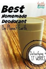 diy homemade deodorant that works