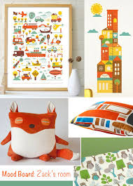 Mood Board From A Nursery To A Toddler Boy Room At Home With Kim Vallee
