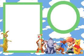 Tarjetas De Cumpleanos Winnie Pooh Para Imprimir Para El Movil 8