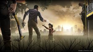 74 the walking dead game wallpaper on
