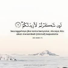 quote quote bersyukur islam