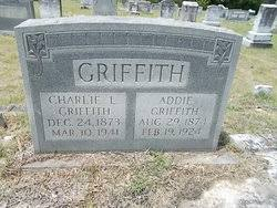 Addie Thompson Griffith (1874-1924) - Find A Grave Memorial