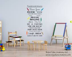 Playroom Rules Wall Decals Playroom Rules Decal Playroom Etsy Playroom Wall Decals Playroom Rules Playroom
