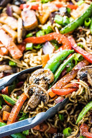 vegetable asian stir fry noodles the