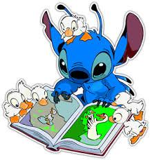 Lilo Stitch Kids Book Cartoon Car Bumper Window Sticker Decal 4 5 X4 5 Ebay
