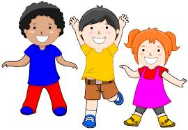 Image result for clip art of children moving