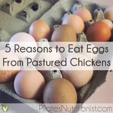 eat real eggs from pastured ens