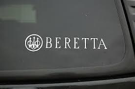 Beretta Gun Sticker Vinyl Decal Nra Car Window Firearm Truck Pick Size V382 Ebay