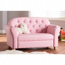 Baxton Studio Gemma Modern And Contemporary Pink Faux Leather 2 Seater Kids Loveseat Kidsbedroomideas Love Seat House Beds For Kids Girls Loft Bed