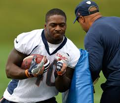 Broncos begin trimming roster to 53: Juwan Thompson among early cuts