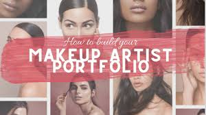 how to build makeup portfolio