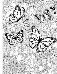 Pin By Suziks2402 Pw On Kras Butterfly Coloring Page Mandala