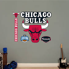 Shop Fathead Chicago Bulls Logo Wall Decals Overstock 9536336