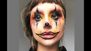 simple cute colorful clown halloween