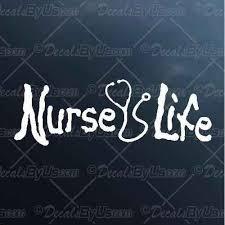 Get The Coolest Nurse Life Car Stickers