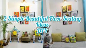 floor sitting area living room decor