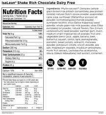 isagenix dairy free shake review