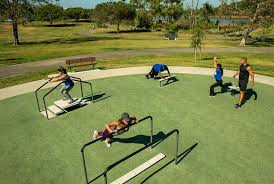 planning outdoor fitness parks