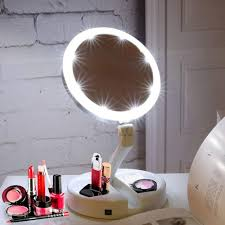 double sided portable led vanity