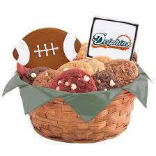 nfl miami dolphins cookie basket