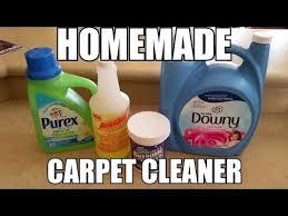 homemade carpet cleaner momhauls
