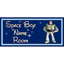 Personalised Disney Space Boy Kids Bedroom Door Sign Toy Story Buzz Lightyear Db Ebay