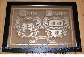 personalised mirror engraving