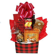 sausage and cheese gift basket