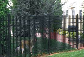 Jerith Aluminum Fence Puppy Picket Arts Crafts Cleveland By Jerith Aluminum Fence