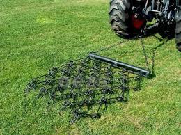 4 x 4 multi action drag chain harrow